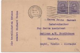 3089    Postal Belgica Bruxelles, Brussel 1923 - Bélgica
