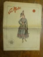 1916  LA MODE  Avec Son Dessin De Broderie Décalquable Au Fer Chaud  (broderie Anglaise,etc) - Patrons