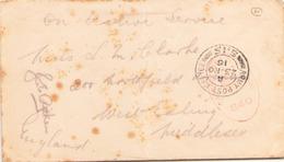 GRANDE BRETAGNE ENVELOPPE EN FRANCHISE POUR MIDDLESEX DU 23 NOVEMBRE 1916 - Briefe U. Dokumente