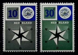 Netherlands 1957: Europ-CEPT, MiNo.704-705 ** MNH - Europa-CEPT