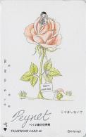 Télécarte Japon / 110-011 - PEINTURE FRANCE - PEYNET - Valentin & Sa Belle - Japan Painting Phonecard - 1512 - Peinture