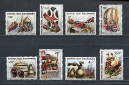 RWANDA 1979 Mi # 1002 - 1009 Handiwork MNH - 1970-79: Mint/hinged