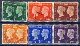 UK Giorgio VI 1940 Serie N. 227-232 Usati Catalogo € 6,20 - 1902-1951 (Re)