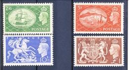 UK Giorgio VI 1951 Serie N. 256- 259 MNH GO Catalogo € 140 - 1902-1951 (Re)