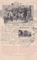 Germany Assmannshausen Gruss Aus Dichter und Kuenstlerheim Zur K