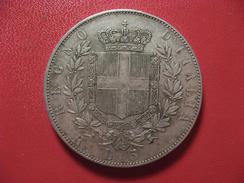 Italie - 5 Lire 1876 R Rome 5728 - 1861-1878 : Victor Emmanuel II