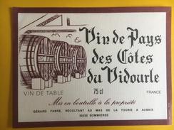 2533 - Vin De Pays Des Côtes Du Vidourle - Rouges