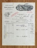 Ancienne Facture Lettre, 1914, Brasserie Louis Arlen, Montbéliard, Bière - Alimentaire