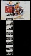 UN BONJOUR DE BLANKENBERGHE - MULTI VUES - GARCON ET FILLE SUR MOTO - Voyagée 1938 - Blankenberge