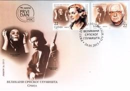 SERBIE FDC - MUSIC KCEHUJA JOSAHOSUH - PREDRAG TASOVAC  24.05.2013  / R 88 - Servië