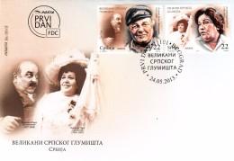 SERBIE FDC - MUSIC RADA SAVICEVIC - XUKA MUNEHKOBUH  24.05.2013  / R 89 - Servië