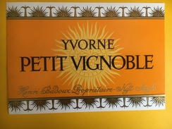2566 - Suisse Vaud  Yvorne Petit Vignoble Badoux - Sonstige