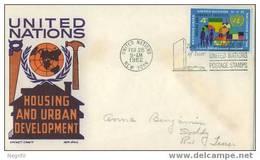 ONU NY 1962 - FDC - New York – UN Headquarters