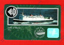 """ISLE Of MAN: 1991 MAN-048 """"Lady Of Mann"""" CN: 10IOMA Unused (6.000ex) - Ver. Königreich"""