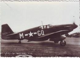 Cpsm Mustang P 51 - Avions