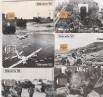 DEBARQUEMENT EN NORMANDIE 6 Crtes - Armée