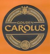Ac-Sous Verres (bocks) Gouden CAROLUS - Beer Mats