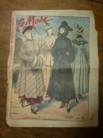 1916  LA MODE  ; Et Courrier De Guerre Et Divers ; Etc - Patrons