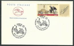 2003 ITALIA FDC CAVALLINO FRATELLI ALINARI - CV2003 - F.D.C.