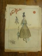 1916  LA MODE  ; Et Courrier De Guerre ;Entre Françaises ; Etc - Patrons