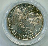 FRANCIA 2011 , 10€ PLATA  MARTINIQUE - France
