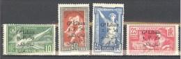 Grand Liban: Yvert N° 45/48*; Jeux Olympiques 1924 De Paris; Grosses Charnières; Voir Les 2 Scans - Grand Liban (1924-1945)