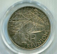FRANCIA 2011 , 10€ PLATA  REUNION - France