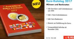 Auflage 2017 EURO Münz-Katalog Germany New 10€ Neue Numis-Briefe/Numisblätter/Banknoten Europa Coin Catalogue Leuchtturm - Books & Software