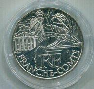 FRANCIA 2011 , 10€ PLATA  FRANCHE-COMTE - France