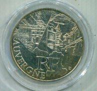 FRANCIA 2011 , 10€ PLATA  AUVERGNE - France