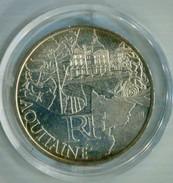 FRANCIA 2011 , 10€ PLATA  AQUITANIE - France