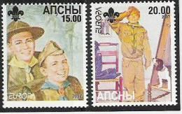 2007 Abchasien ** MNH - Europa-CEPT