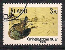 Aland Åland 1986 The Artist's Colony In Önningeby, Mi 19, Cancelled(o) - Aland