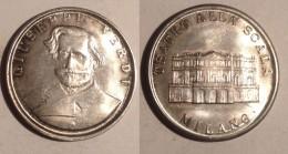 GETTONE TOKEN JETON FICHA  ITALIA TEATRO DELLA SCALA MILANO GIUSEPPE VERDI - Monetary/Of Necessity