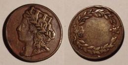 GETTONE TOKEN JETON FICHA  ITALIA MEDAGLIA - Monetary/Of Necessity