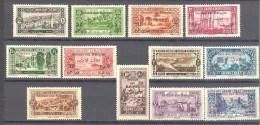 Grand Liban: Maury N° 63/74*; Le 71(*) - Grand Liban (1924-1945)