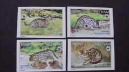WWF W.W.F. Vietnam Viet Nam MNH Imperf Withdrawn Stamps 2010 : Fishing Cat (Ms996) - Non Classés
