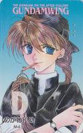 Télécarte Japon - MANGA - GUNDAM / WING - ON THE AFTER COLONY - ANIME Japan Phonecard  / 110-015 - 7310 - Cinema