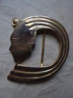 """Ancienne Boucle De Ceinture """"Figure égyptienne"""" - Other"""