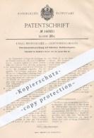Original Patent - F. P. Weinitschke , Berlin Lichtenberg , 1903 , Weichenantrieb Mit Drahtbruchsperre , Eisenbahn !!! - Historical Documents