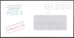 FRANCE '62 ARRAS JARDIN MINELLE PP' 1992 1 MARQUE POSTALE - Marcophilie (Lettres)