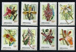 1976  Fleurs  Série Complète ** - Rwanda