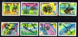 1977  Journée Mondiale Des Télécommunications -  Série Complète ** - Rwanda