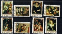 1977  Tableaux De Peter Paul Rubens -  Série Complète ** - Rwanda