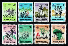 1978  10è Ann. Des Souts  Rwandais -  Série Complète ** - Rwanda