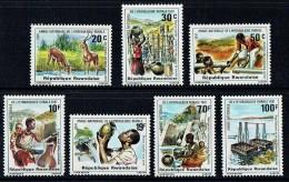 1981  Hydrologie Rurale - Série Complète ** - Rwanda