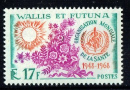 1968  20è Ann. De L'O.M.S.  ** - Wallis-Et-Futuna