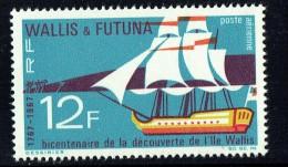 1967  100é Ann Découverte De L'île Wallis  ** - Ungebraucht