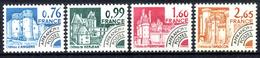 PREO  1980  N° 166 A 169 NEUFS ** - 1964-1988