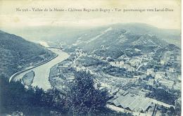 Vallée De La Meuse - Château Regnault Bogny - Vue Panoramique Vers Laval-Dieu - France